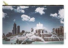 Buckingham Fountain Carry-all Pouch by Scott Norris