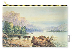 Buffalo Watering Carry-all Pouch by Thomas Moran