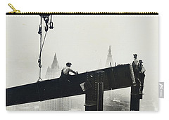 Building The Empire State Building Carry-all Pouch by LW Hine