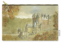 Burg Eltz Castle Carry-all Pouch by Juan Bosco