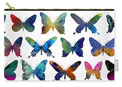 Butterflies Carry-all Pouch by Varpu Kronholm