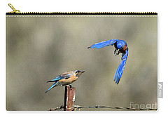 Buzzing By Carry-all Pouch by Mike Dawson