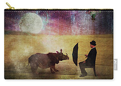 By The Light Of The Moon Carry-all Pouch by Terry Fleckney