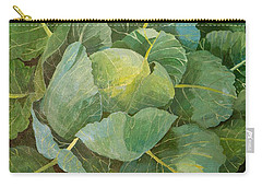 Cabbage Carry-all Pouch by Jennifer Abbot