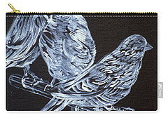 Canaries Carry-all Pouch by Fabrizio Cassetta