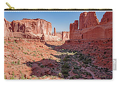 Carry-all Pouch featuring the photograph Arches National Park, Moab, Utah by A Gurmankin
