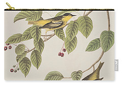 Carbonated Warbler Carry-all Pouch by John James Audubon