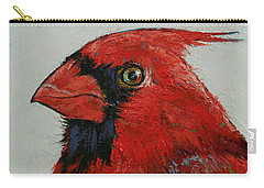 Cardinal Carry-all Pouch by Michael Creese
