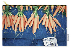 Carrots At The Market Carry-all Pouch by Tom Gowanlock