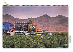 Cauliflower Harvest Carry-all Pouch by Robert Bales
