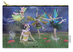 Celebration Of Night Alice And Oz Carry-all Pouch by Betsy Knapp