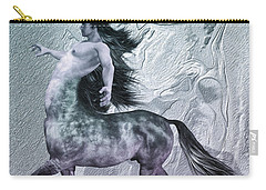 Centaur Cool Tones Carry-all Pouch by Quim Abella