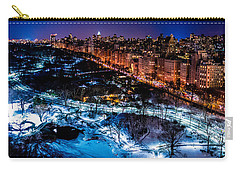 Carry-all Pouch featuring the photograph Central Park by M G Whittingham