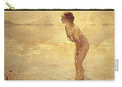 Chabas: September Morn Carry-all Pouch by Granger