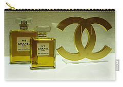 Chanel No 5 With Cc Logo Carry-all Pouch by To-Tam Gerwe