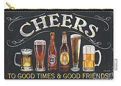 Cheers  Carry-all Pouch by Debbie DeWitt