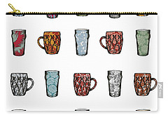 Cheers Carry-all Pouch by Sarah Hough