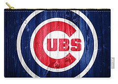 Chicago Cubs Barn Door Carry-all Pouch by Dan Sproul
