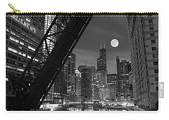 Chicago Pride Of Illinois Carry-all Pouch by Frozen in Time Fine Art Photography