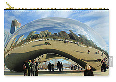 Chicago Reflected Carry-all Pouch by Kristin Elmquist