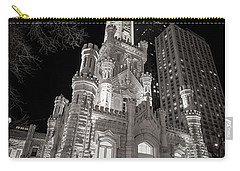 Chicago Water Tower Carry-all Pouch by Adam Romanowicz