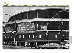 Chicago: Wrigley Field Carry-all Pouch by Granger