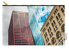 Chicago's South Wabash Avenue  Carry-all Pouch by Semmick Photo