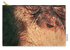 Chimp Carry-all Pouch by Jack Zulli