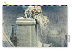 Christmas Eve Carry-all Pouch by Gustave Dore