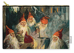 Christmas Gnomes Carry-all Pouch by English School