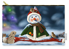 Christmas Party Carry-all Pouch by Veronica Minozzi