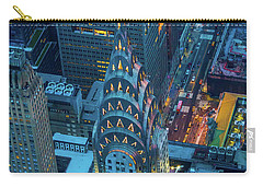 Chrysler Building Carry-all Pouch by Inge Johnsson