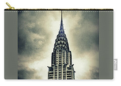 Chrysler Building Carry-all Pouch by Jessica Jenney