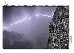 Chrysler Building Carry-all Pouch by Martin Newman