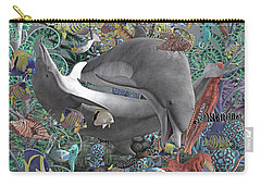 Circle Of Friends Carry-all Pouch by Betsy Knapp