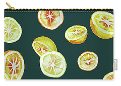 Citrus Carry-all Pouch by Varpu Kronholm