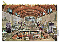 Classic Westside Market Carry-all Pouch by Frozen in Time Fine Art Photography