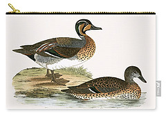 Clucking Teal Carry-all Pouch by English School