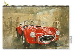 Cobra At Brooklands Carry-all Pouch by Peter Miller
