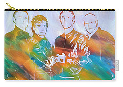 Colorful Coldplay Carry-all Pouch by Dan Sproul