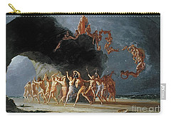 Come Unto These Yellow Sands Carry-all Pouch by Richard Dadd