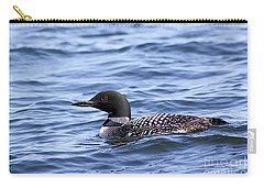Common Loon Carry-all Pouch by Teresa Zieba
