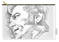 Conway Twitty Carry-all Pouch by Greg Joens