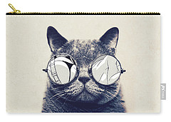 Cool Cat Carry-all Pouch by Vitor Costa
