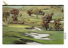 Cordevalle Golf Course Carry-all Pouch by Guido Borelli