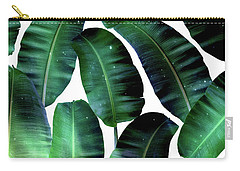 Cosmic Banana Leaves Carry-all Pouch by Uma Gokhale