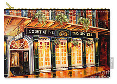 Court Of The Two Sisters Carry-all Pouch by Diane Millsap