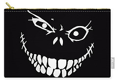 Crazy Monster Grin Carry-all Pouch by Nicklas Gustafsson