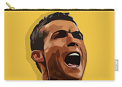 Cristiano Ronaldo Cr7 Carry-all Pouch by Semih Yurdabak