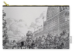 Crystal Palace Carry-all Pouch by Pat Nicolle